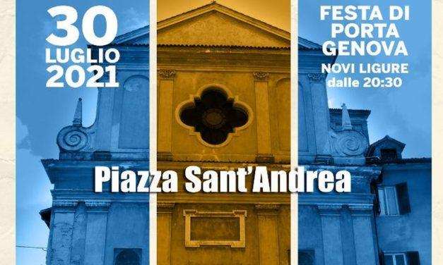 Venerdì a Novi Ligure c'è la festa di Porta Genova