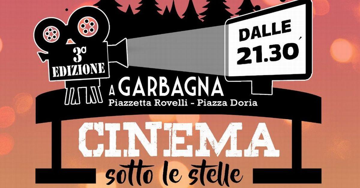 Domani a Garbagna torna il cinema sotto le stelle