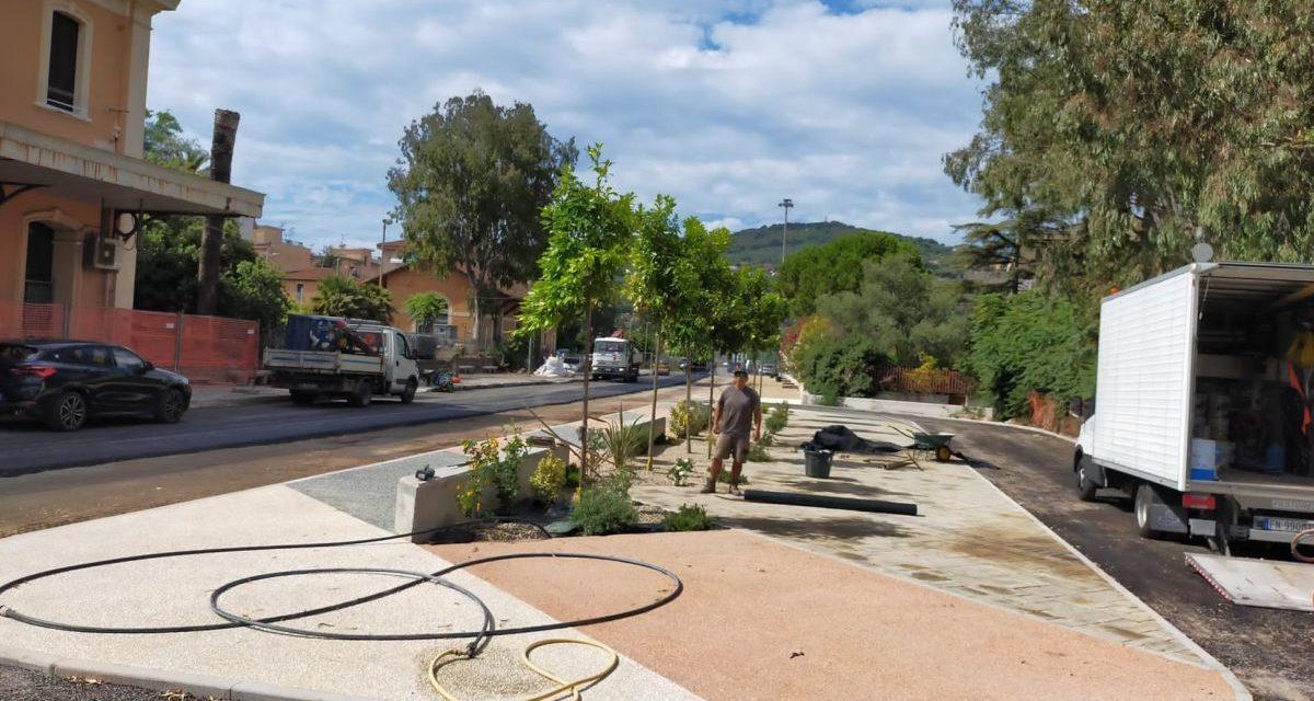 Inaugurati oggi 40 nuovi parcheggi a Diano marina