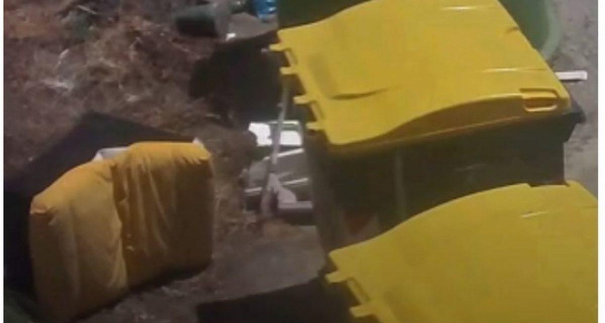 Abbandona poltrone vicino ai cassonetti a Valenza, individuato e multato