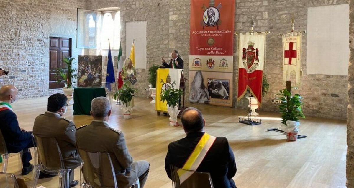 """Il Premio Internazionale """"Bonifacio VIII. Per una Cultura della Pace"""" alla Città di Alessandria"""