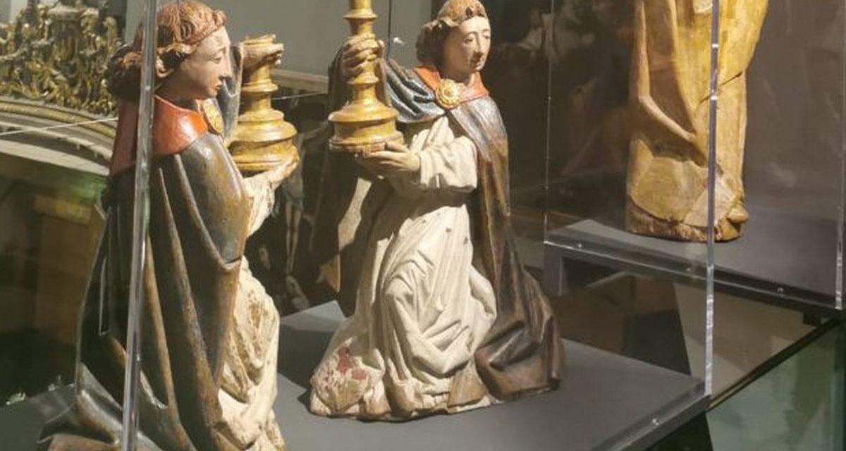Due sculture del Museo Civico di Casale alla mostra di Susa dedicata ad Antoine de Lonhy