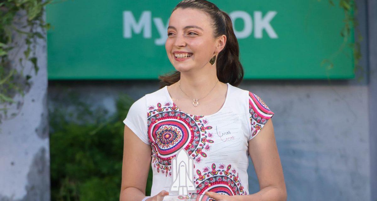 L'alessandrina Valeria Cagnina premiata al Myllennium Award per la sua azienda di robot