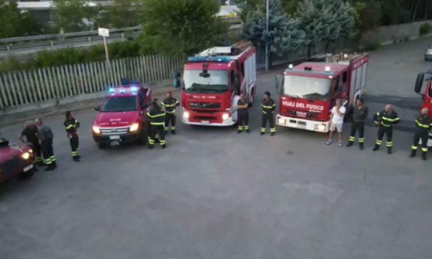 Dura notte per i pompieri di Tortona: donna caduta in casa, allarme in un'azienda e camion a fuoco