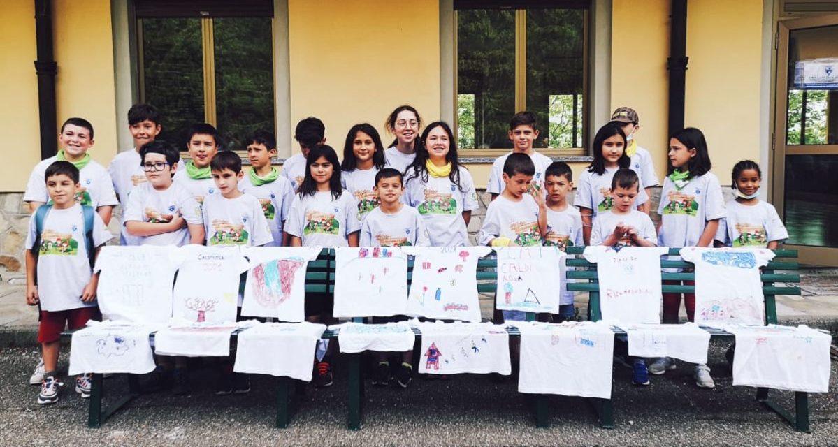 """22 bambini in montagna con il Cai Tortona sul giornale nazionale """"Lo scarpone"""""""