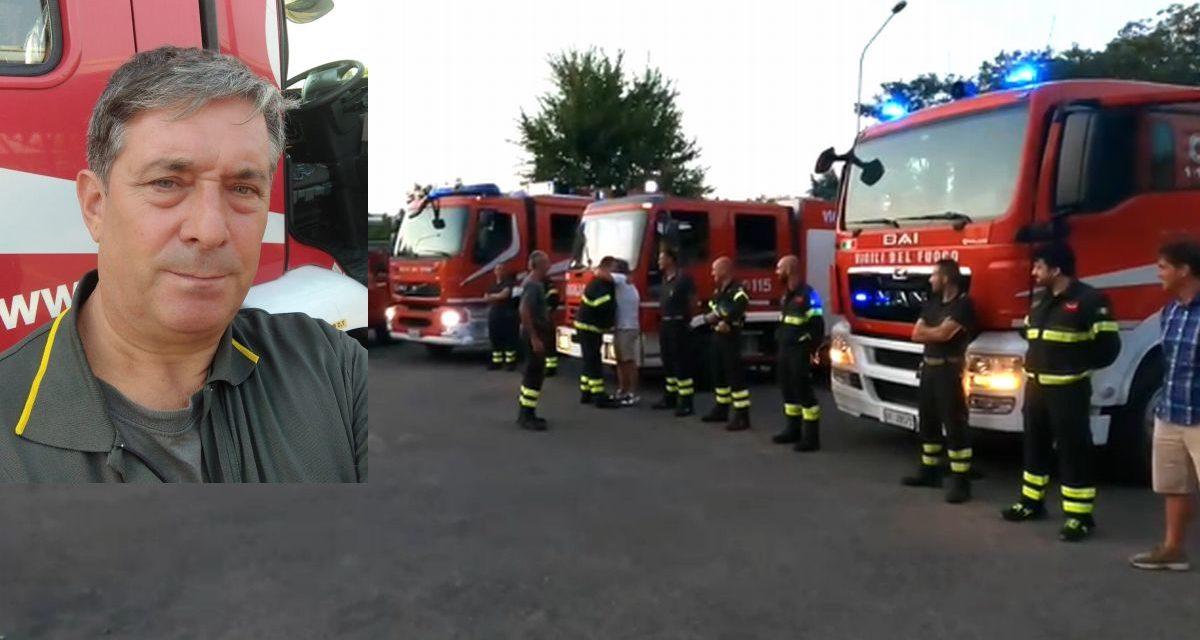 Gian Piero Ferasin va in pensione, Tortona rimane senza un grande pompiere