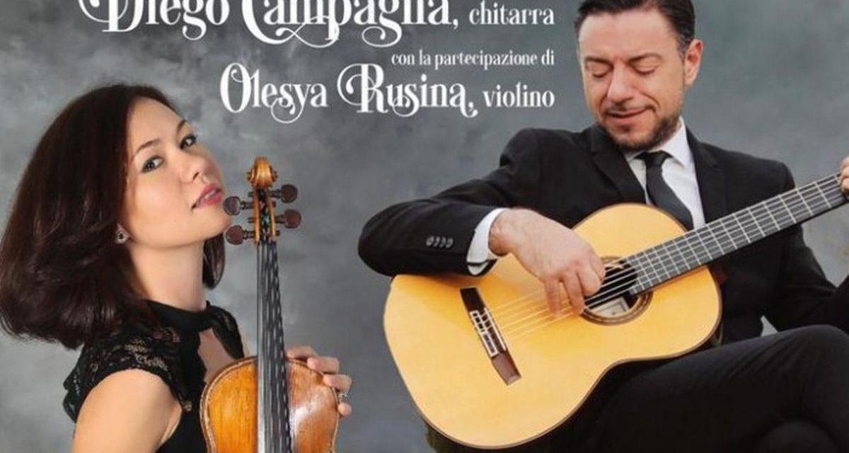 Ferragosto di grande musica a Imperia, torna la chitarra di Diego Campagna al Parasio