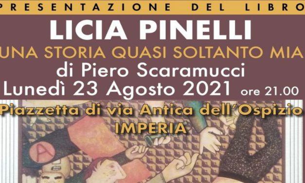 Claudia Pinelli lunedì sarà a Imperia, non mancate!