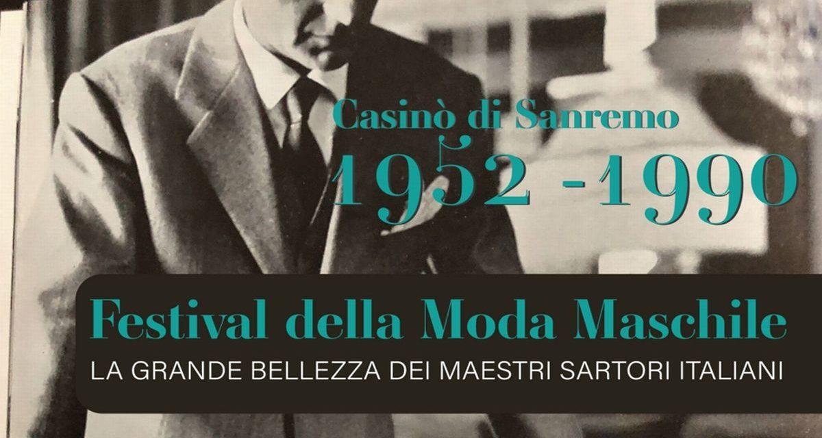 """L'esposizione Festival della Moda Maschile del Casinò di Sanremo a """"Estate in Diretta – Il tempo di Greta""""."""