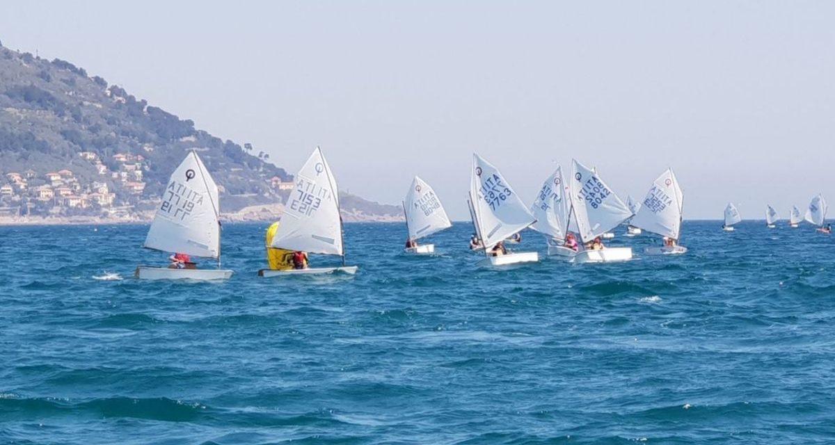 Un successo le gare di vela a Diano Marina