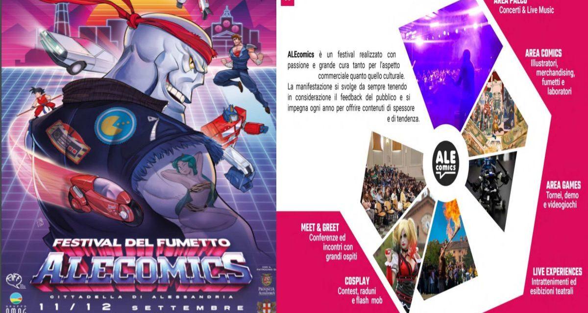 """Ad Alessandria nel week end c'é """"Ale comics"""" con una marea di iniziative"""