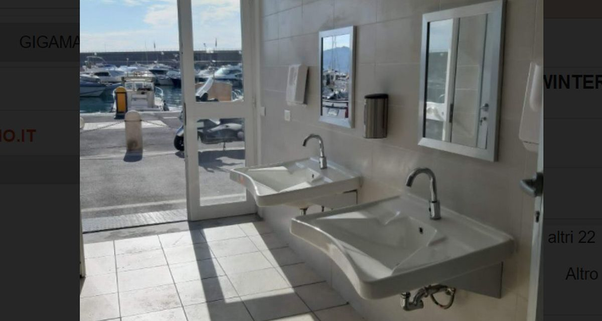 Nuovi bagni pubblici a Bordighera