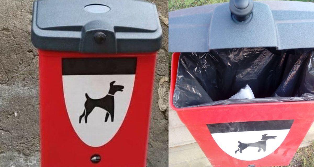 Comune di Novi e Gestione Ambiente installano una marea di cestini per deiezioni canine