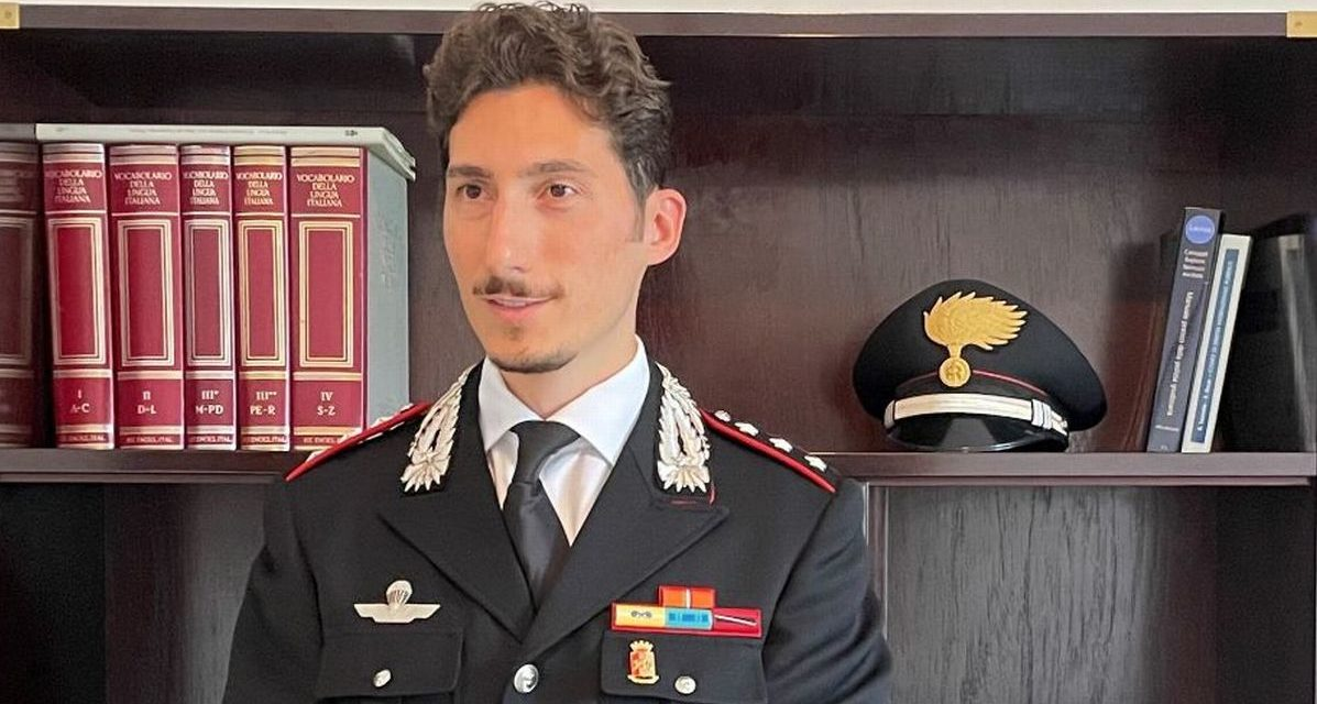 Davide Sessa nuovo comandante della Compagnia Carabinieri di Alessandria