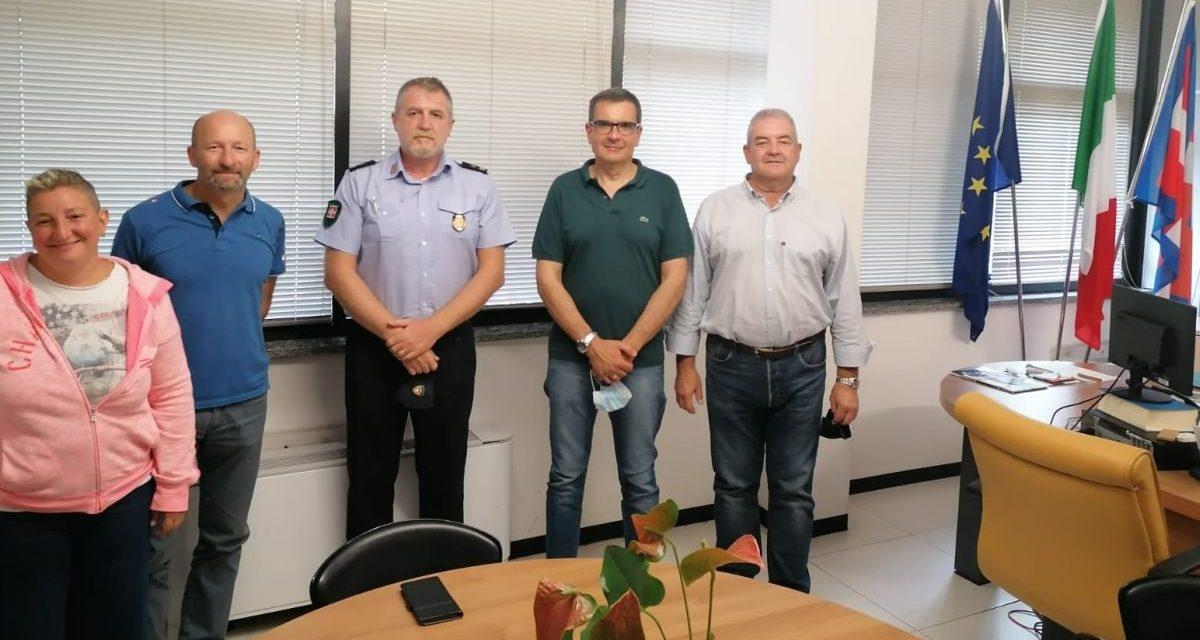 I sindaci del valenzano fanno il punto sulla convenzione della polizia locale e pianificano i prossimi interventi