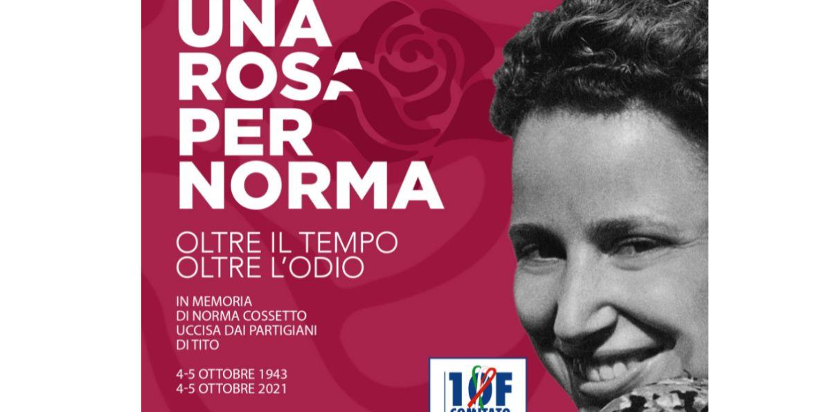 Sabato a Tortona Tortona: sarà ricordato il sacrificio di Norma Cossetto, stuprata e gettata ancora viva in una foiba