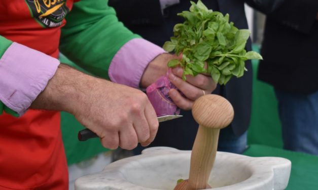 Da Venerdì a Diano marina c'é il  Campionato Mondiale di Pesto al Mortaio