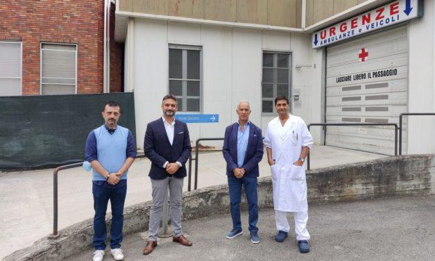 Stamattina ha finalmente riaperto il Pronto Soccorso dell'ospedale di Tortona