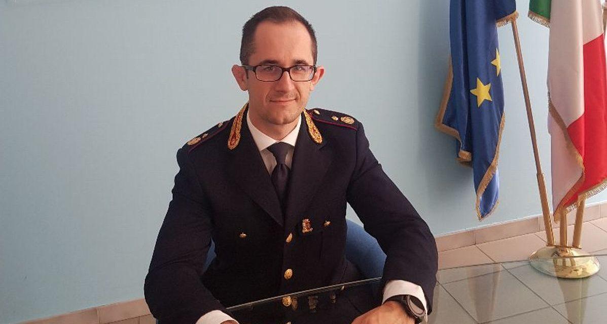 """Riccardo Calcagno nuovo dirigente della """"Mobile"""" di Alessandria"""