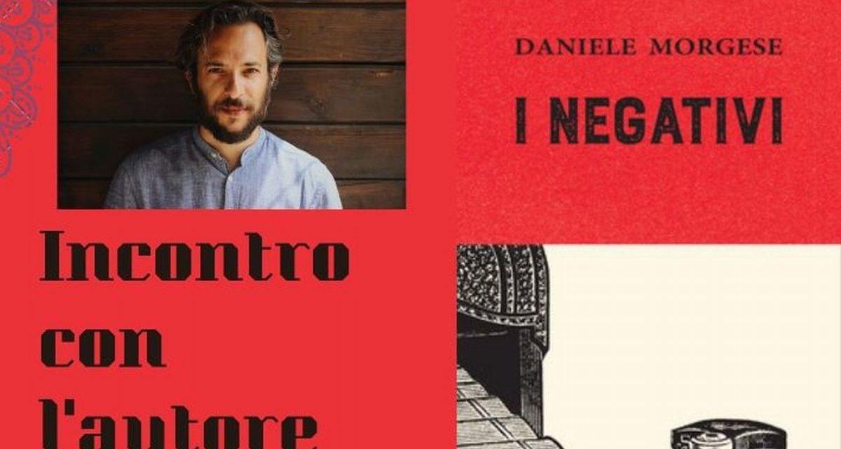 Venerdì a Valenza l'incontro con l'autore Daniele Morgese