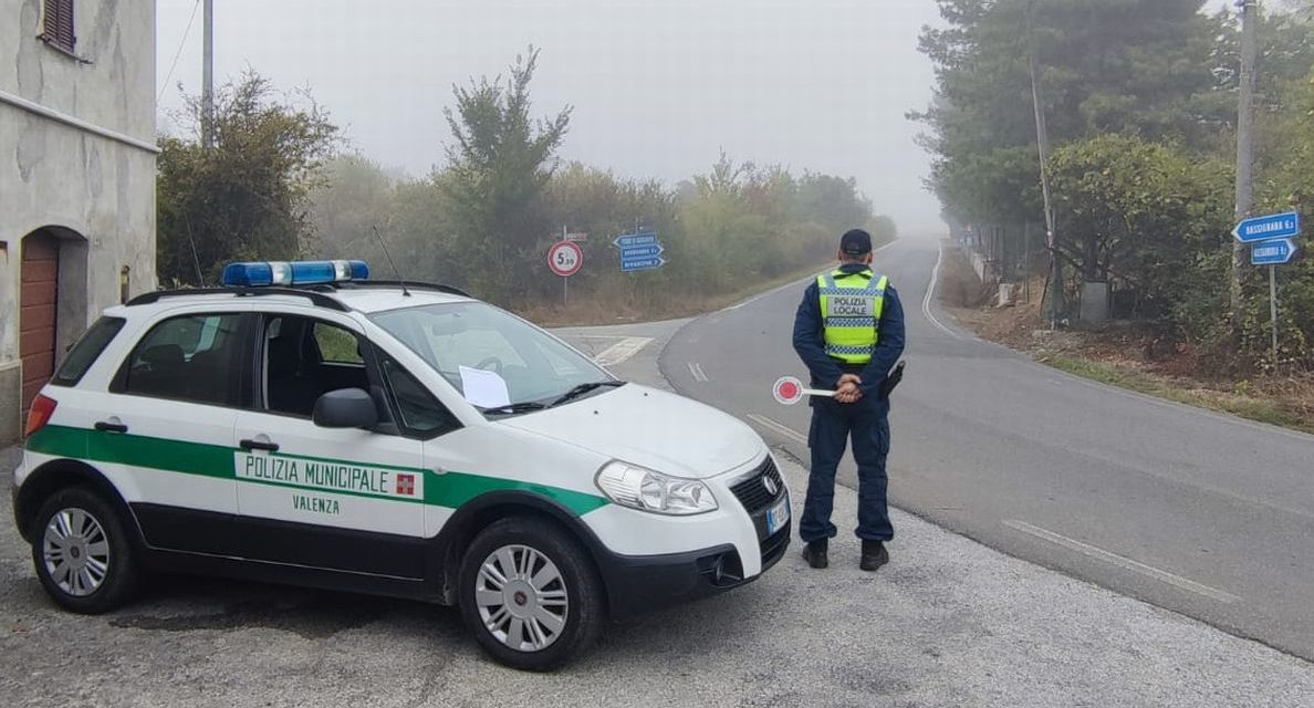 Intensificati i controlli della Polizia Municipale di valenza