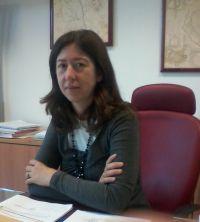 Laura Castellano nel suo ufficio in municipio